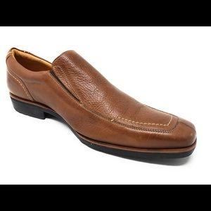Floresheim men's slip on shoe 11.5 tan $125